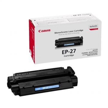 EP 27 оригинальный лазерный картридж Canon черный, ресурс печати - 2500 страниц