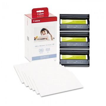 KP-108IN/IP Ink/Paper Set | 3115B001 сублимационный Canon, 108 фото, цветной набор + фотобумага