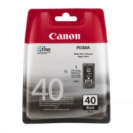 PG 40 оригинальный струйный картридж Canon черный, ресурс печати - 330 страниц