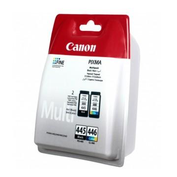 Canon PG-445 + CL-446 | 8283B004 оригинальный струйный картридж - черный + цветной, 180 стр