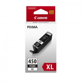PGI 450XLBk оригинальный струйный картридж Canon черный-увеличенный, ресурс печати - 500 страниц