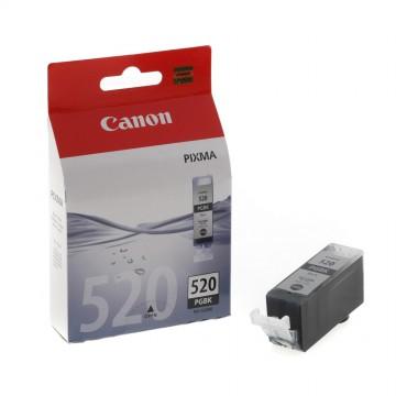 PGI 520Bk оригинальный струйный картридж Canon черный пигментный, ресурс печати - 350 страниц