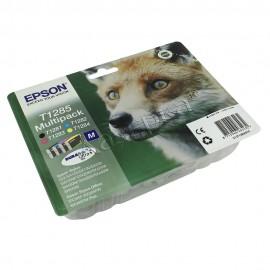 C13T12854010 T1285 Multipack оригинальный комплект картриджей Epson 4 шт, ресурс - 260 страниц