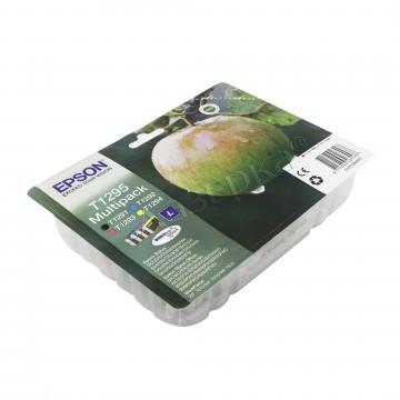 Epson T1295 Color | C13T12954012 оригинальный струйный картридж - набор цветной + черный, 400 стр
