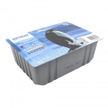 C13T55974010 T5597 Multipack оригинальный комплект картриджей Epson 6 шт, ресурс - 400 страниц
