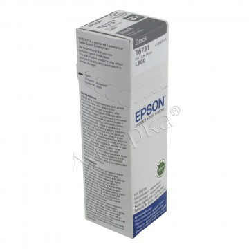 Epson T6731 Black | C13T67314A оригинальный струйный картридж - черный, 1800 стр
