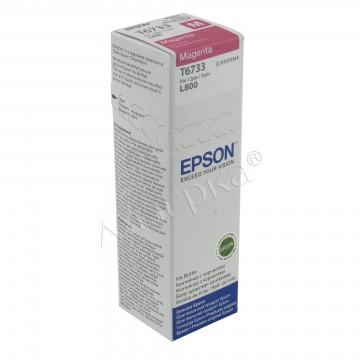 Epson T6733 Magenta | C13T67334A оригинальный струйный картридж - пурпурный, 1800 стр