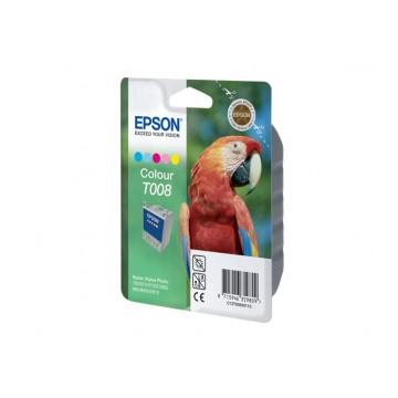 Epson T008 Color | C13T00840110 оригинальный струйный картридж - цветной, 220 стр