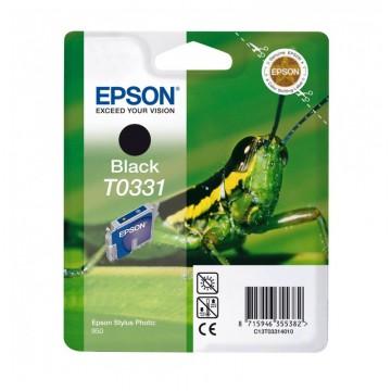 Epson T0331 Black | C13T03314010 оригинальный струйный картридж - черный, 628 стр