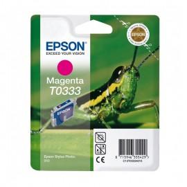 C13T03334010 T0333 Magenta струйный картридж Epson пурпурный