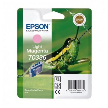 C13T03364010 T0336 Light magenta оригинальный струйный картридж Epson светло-пурпурный, ресурс - 440 страниц
