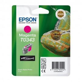 C13T03434010 T0343 Magenta струйный картридж Epson пурпурный