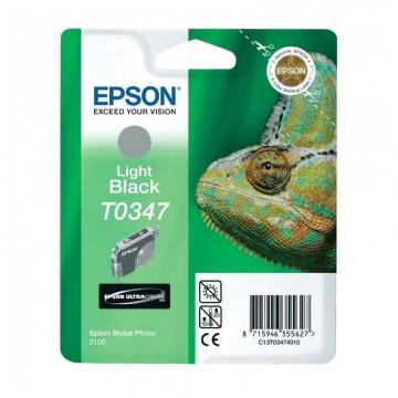C13T03474010 T0347 Grey оригинальный струйный картридж Epson серый, ресурс - 440 страниц
