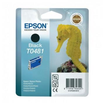 C13T04814010 T0481 Black струйный картридж Epson чёрный