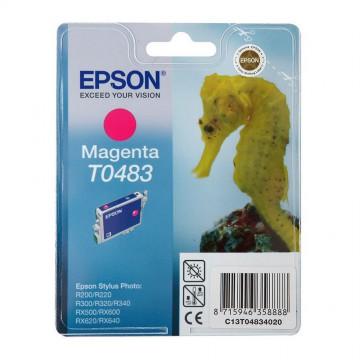 Epson T0483 Magenta | C13T04834010 оригинальный струйный картридж - пурпурный, 430 стр