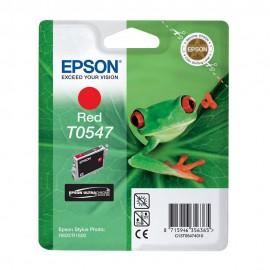 Уценка! T0547 Red | C13T05474010 (Epson) струйный картридж - 400 стр, красный