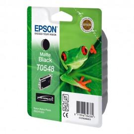 C13T05484010 T0548 Matte black оригинальный струйный картридж Epson черный-матовый, ресурс - 400 страниц