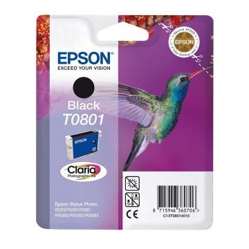 Epson T0801 Black | C13T08014011 оригинальный струйный картридж - черный, 480 стр