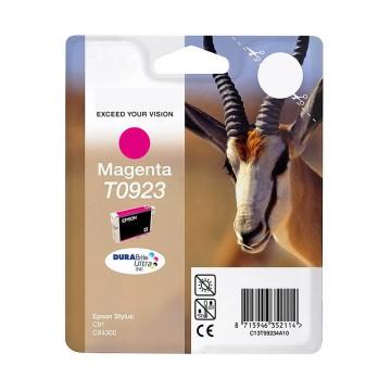 C13T10834A10 T0923 Magenta оригинальный струйный картридж Epson пурпурный, ресурс - 250 страниц