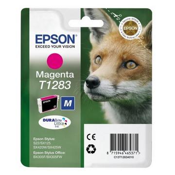 Epson T1283 Magenta | C13T12834011 оригинальный струйный картридж - пурпурный, 160 стр