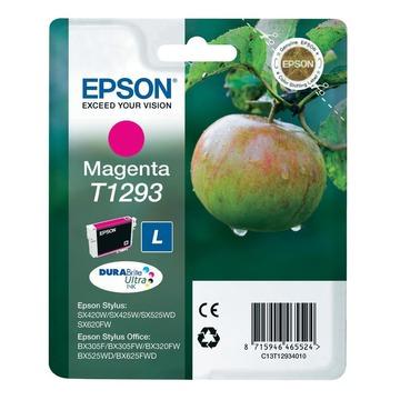 Epson T1293 Magenta | C13T12934012 оригинальный струйный картридж - пурпурный, 460 стр