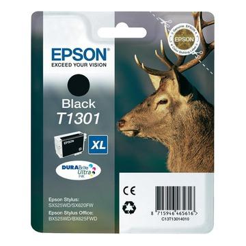 Epson T1301 Black | C13T13014010 оригинальный струйный картридж - черный, 945 стр