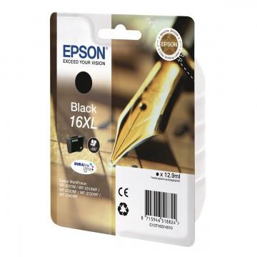 Epson 16XL Black | C13T16314010 оригинальный струйный картридж - черный, 500 стр