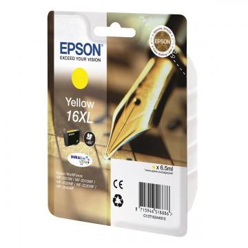 Epson 16XL Yellow | C13T16344010 оригинальный струйный картридж - желтый, 450 стр