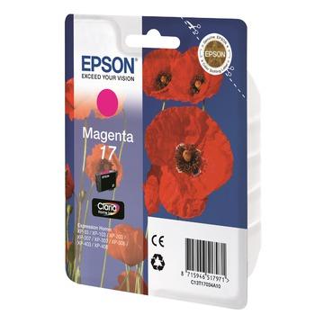 Epson 17 Magenta | C13T17034A10 оригинальный струйный картридж - пурпурный, 150 стр
