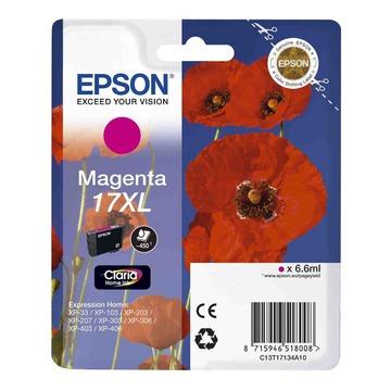 Epson 17XL Magenta | C13T17134A10 оригинальный струйный картридж - пурпурный, 450 стр
