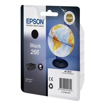 Epson 266 Black | C13T26614010 оригинальный струйный картридж - черный, 250 стр