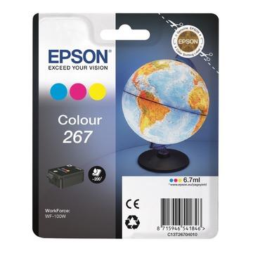 Epson 267 Color   C13T26704010 оригинальный струйный картридж - цветной, 200 стр