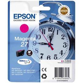 27 Magenta | C13T27034022 струйный картридж Epson, 300 стр., пурпурный