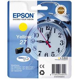 27 Yellow | C13T27044022 струйный картридж Epson, 300 стр., желтый
