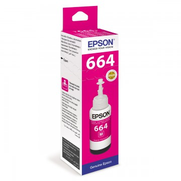 Epson T6643 Magenta | C13T66434A оригинальный струйный картридж - пурпурный, 7500 стр