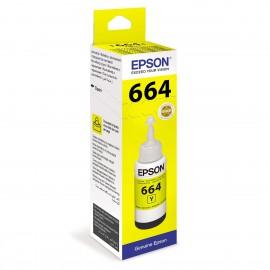 C13T66444A T6644 Yellow оригинальный струйный картридж Epson желтый, ресурс - 7500 страниц