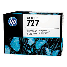 HP B3P06A оригинальная печатающая головка HP 727 черный + цветной, ресурс - не определен