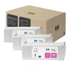 83 Magenta Pack | C5074A оригинальный чернильный комплект HP, 680 мл, пурпурный