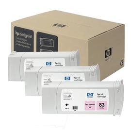 83 Light magenta Pack | C5077A оригинальный чернильный комплект HP, 680 мл, светло-пурпурный