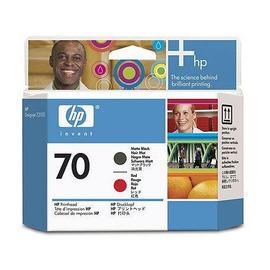 70 R + MB Print Head | C9409A оригинальный печатающая головка HP, красный + матовый-черный