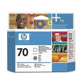 HP C9410A оригинальная печатающая головка HP 70 глянцевый + серый, ресурс - не определен