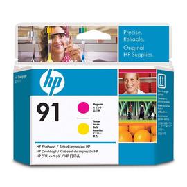91 M + Y Print Head | C9461A оригинальный печатающая головка HP, пурпурный + желтый