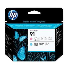 HP C9462A оригинальная печатающая головка HP 91 светло-голубой + светло-пурпурный, ресурс - не определен