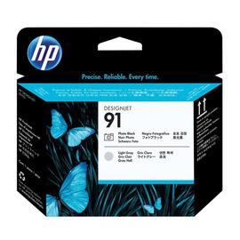 91 PB + LG Print Head | C9463A оригинальный печатающая головка HP, фото-черный + светло-серый