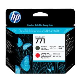 771 MBk Print Head | CE017A оригинальный печатающая головка HP, матовый-черный + красный