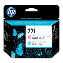 771 LC + LM Print Head | CE019A оригинальный печатающая головка HP, светло-голубой + светло-пурпурный