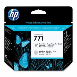 771 BL + LG Print Head | CE020A оригинальный печатающая головка HP, черный + светло-серый