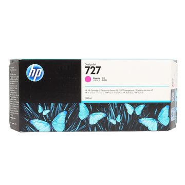 HP 727 Magenta | F9J77A оригинальный струйный картридж - пурпурный, 300 мл