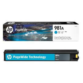981A Cyan | J3M68A (HP) pagewide картридж - 6000 стр, голубой