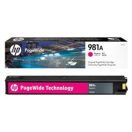 981A Magenta | J3M69A (HP) pagewide картридж - 6000 стр, пурпурный